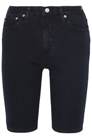 The Camille stretch-denim shorts
