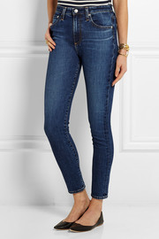 Alexa Chung For AG Jeans The Brianna high-rise skinny jeans