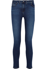 The Brianna high-rise skinny jeans