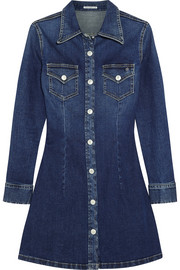 Alexa Chung For AG Jeans The Pixie denim mini dress