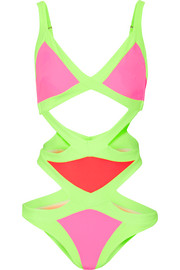 Mazy cutout swimsuit