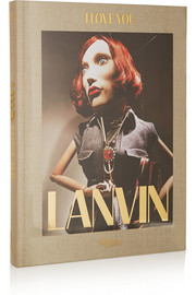 Rizzoli Lanvin: I Love You by Alber Elbaz hardcover book