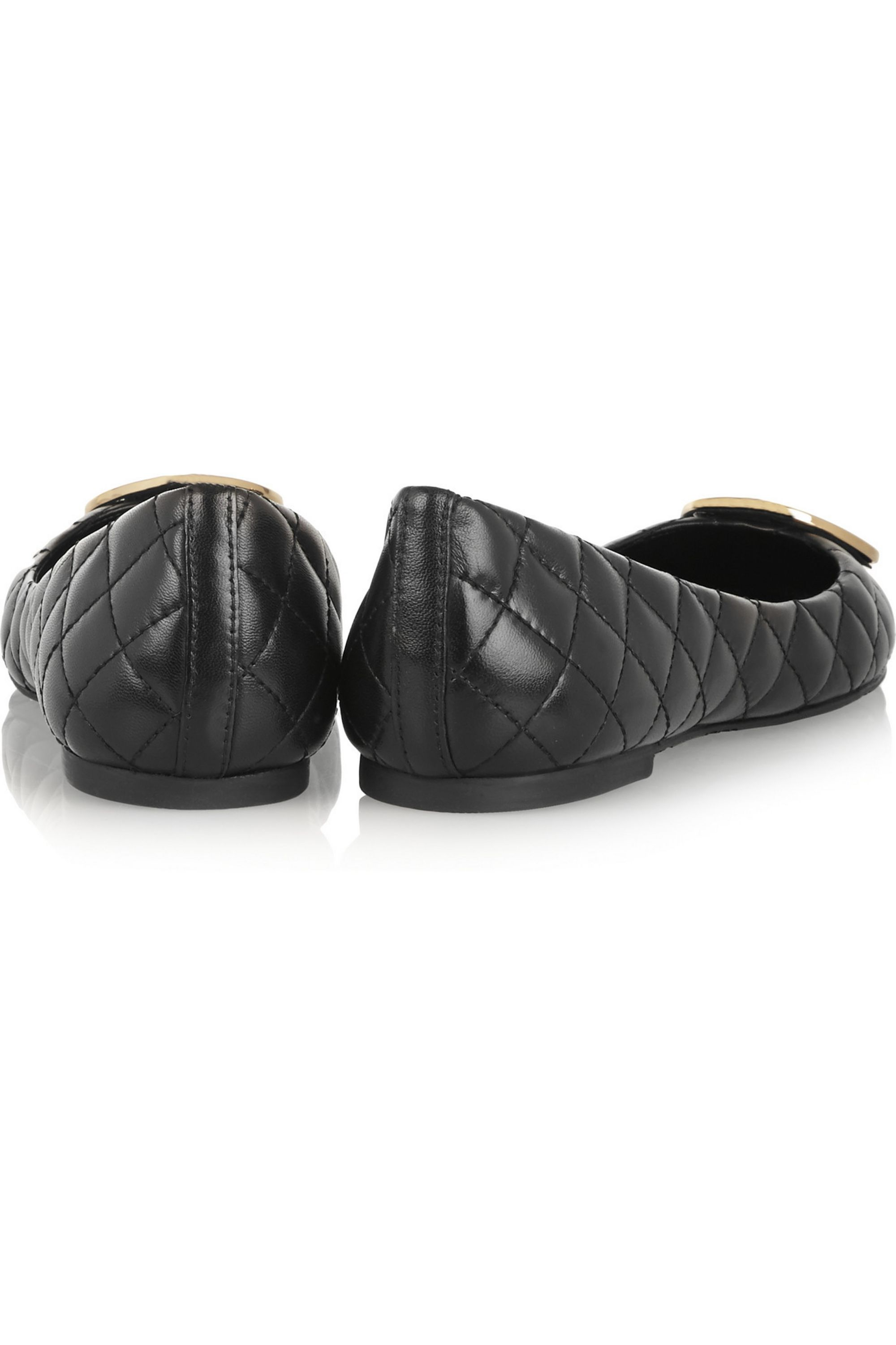Tory Burch Quinn quilted leather ballet flats