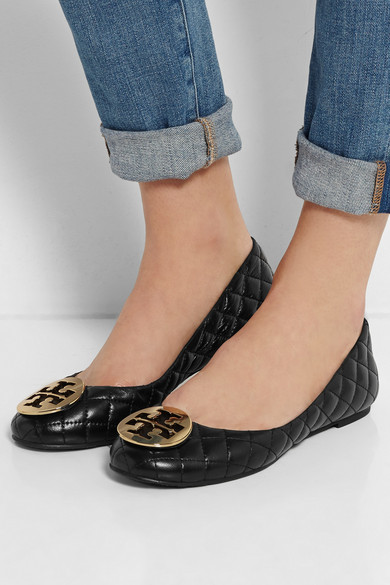 b9971dc10a4d Tory Burch. Quinn quilted leather ballet flats