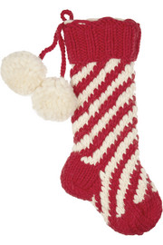 Eugenia Kim Chunky-knit wool stocking