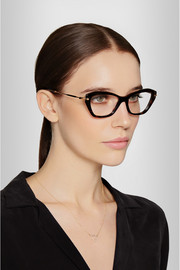 Miu Miu Cat eye acetate optical glasses