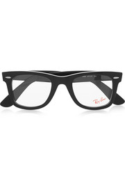Ray-Ban The Wayfarer acetate optical glasses