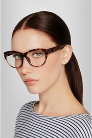 Linda Farrow Cat eye acetate optical glasses