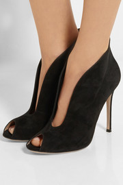 Vamp 105 suede ankle boots