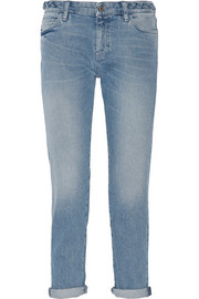 The Phoebe mid-rise slim boyfriend jeans