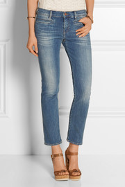 MiH Jeans The Paris cropped mid-rise skinny jeans
