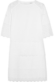 The Niobi broderie anglaise cotton mini dress