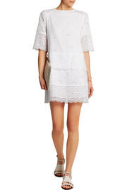 MiH Jeans The Niobi broderie anglaise cotton mini dress