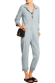 MiH Jeans The Arconaut cotton-chambray jumpsuit