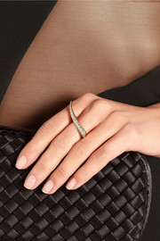 Sabre 18-karat gold diamond ring