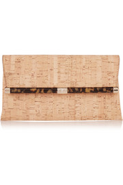 440 Envelope metallic cork clutch