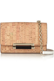 440 Micro mini metallic cork shoulder bag