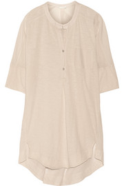 Slub cotton-jersey nightshirt