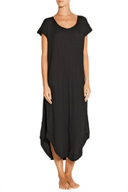 Ribbed Pima cotton-jersey nightdress