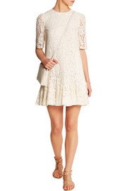 Ruffled lace dress