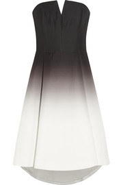Ombré faille dress