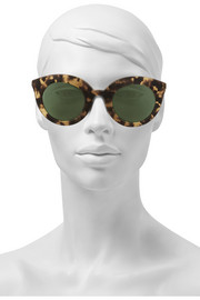 Finds + Kaibosh Song of the Siren cat eye acetate sunglasses