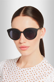 + Kaibosh Song of the Siren cat eye acetate sunglasses