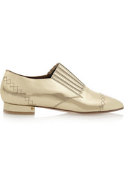 Laurence Dacade Gaia mirrored-leather loafers