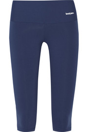 Octavia cropped stretch-jersey leggings