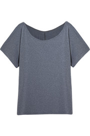 Emma off-the-shoulder stretch-jersey T-shirt
