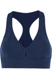 Ruby stretch-jersey sports bra