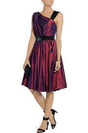 Vivienne Westwood Anglomania Star taffeta and satin dress