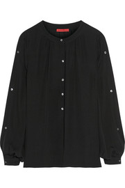 Tamara Mellon Silk-georgette blouse