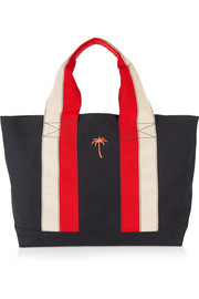 Tomas Maier Striped canvas tote