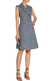 Jason Wu Cotton-blend jacquard wrap dress