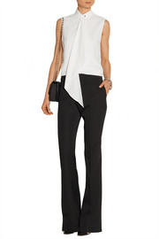 Jason Wu Draped crepe top