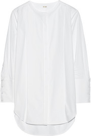 Cotton-poplin tunic