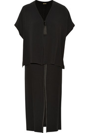 Adam Lippes Layered crepe midi dress