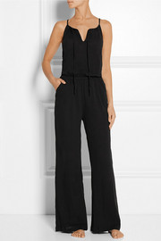 Cotton-gauze jumpsuit