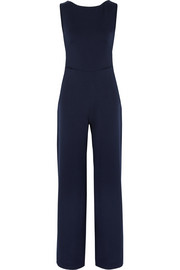 Jules backless crepe jumpsuit