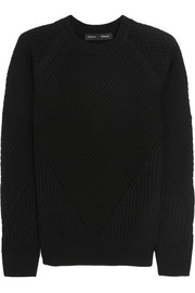Proenza Schouler Contrast-knit wool sweater