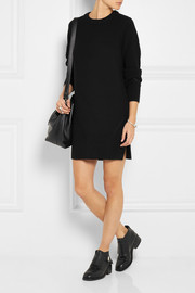 Proenza Schouler Contrast-knit wool mini dress
