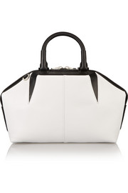 Emile Doctor two-tone leather tote