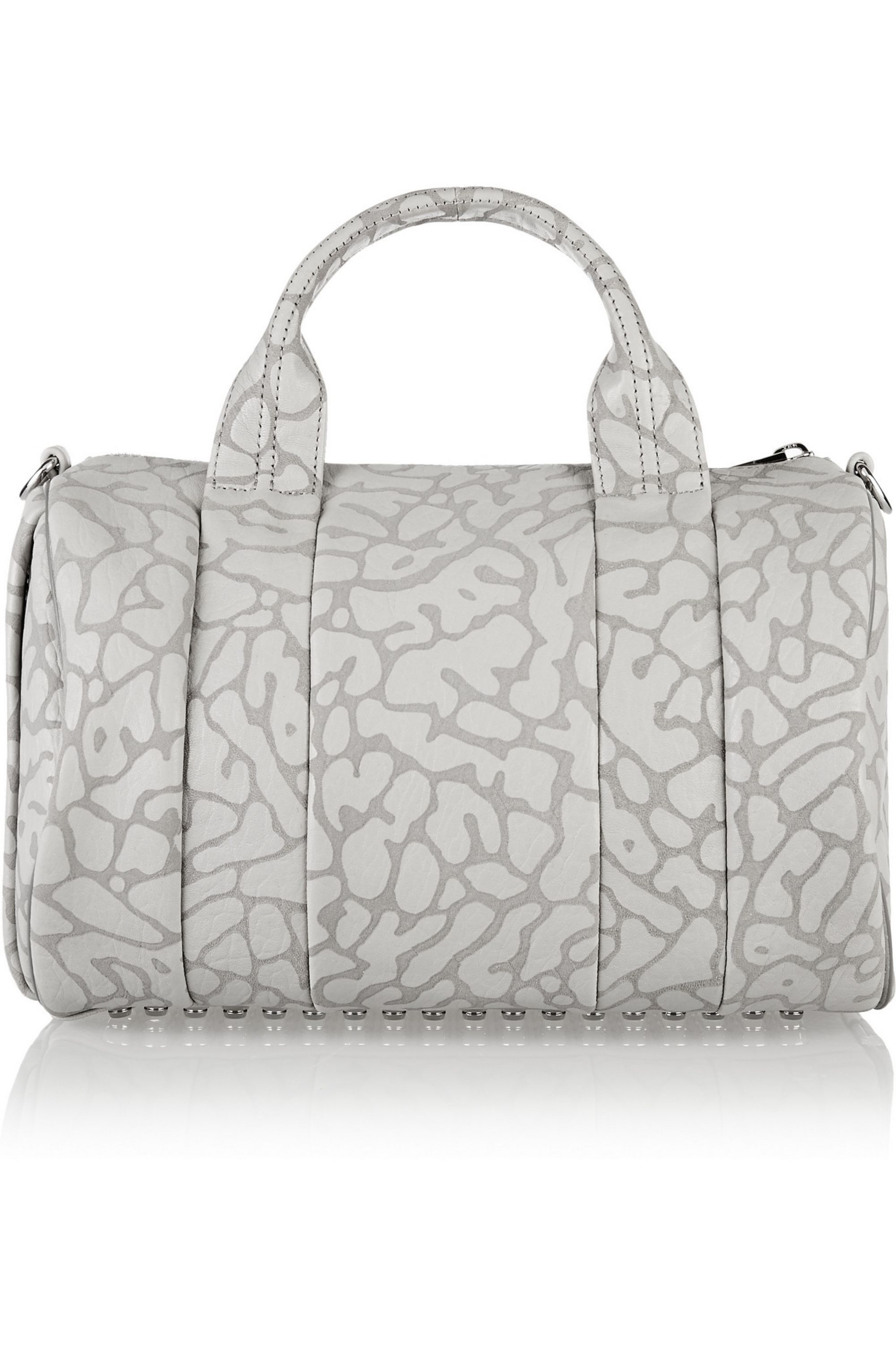 Alexander Wang The Rocco leopard-print leather tote