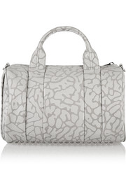 The Rocco leopard-print leather tote