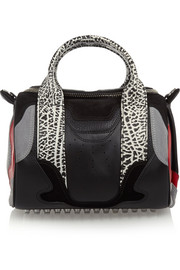 Alexander Wang Rockie Sneaker suede and leather tote