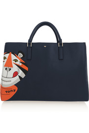 Anya Hindmarch Ebury Maxi Frosties leather tote