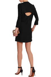 Victoria Beckham Cutout crepe mini dress