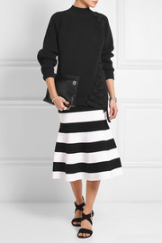 Victoria Beckham Oversized chunky-knit cotton-blend sweater