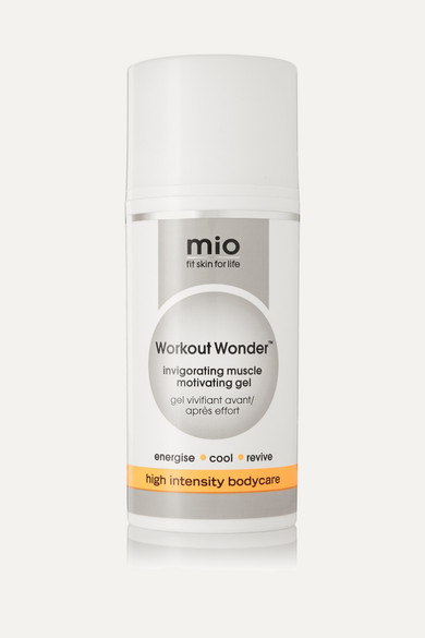 "Mio Skincare - Workout Wonderâ""¢ Invigorating Muscle Motivating Gel, 100ml - Colorless"
